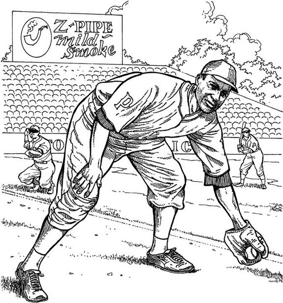pittsburgh pirate fielder baseball coloring page purple kitty - Pittsburgh Pirates Coloring Pages