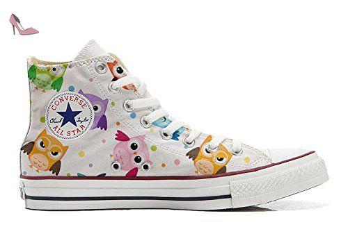 Converse Customized Adulte - chaussures coutume (produit artisanal) Autumn Forest size 34 EU kh5nQCO1P