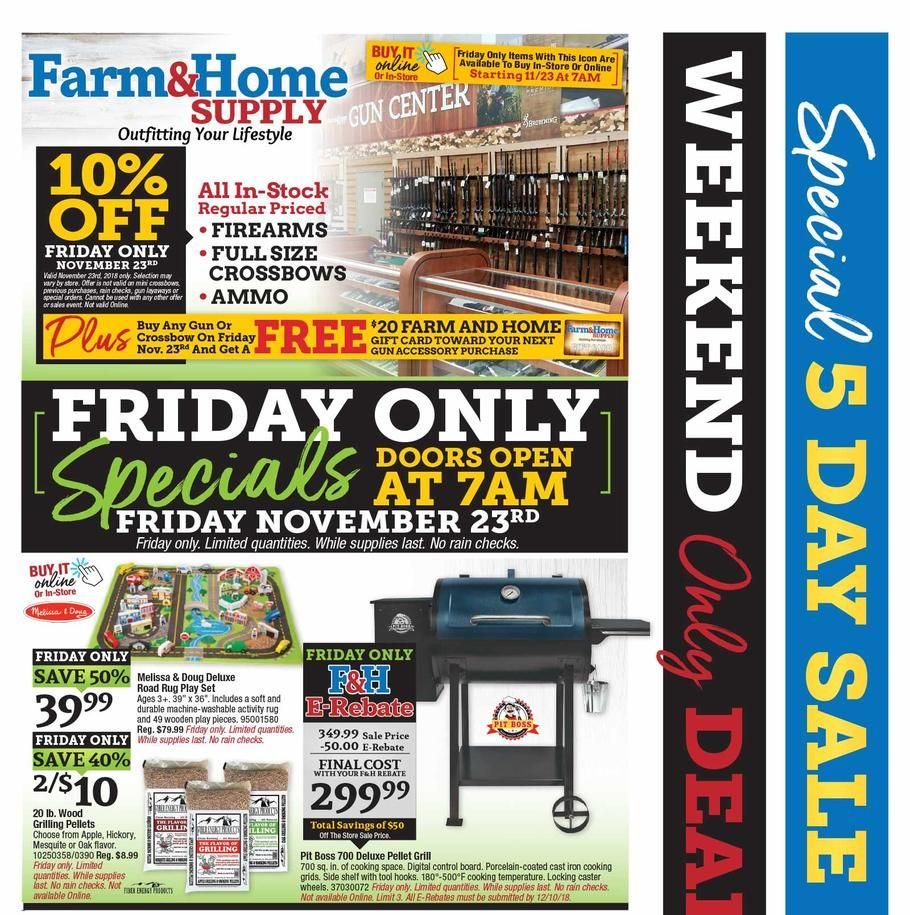 Farm Home Supply Black Friday Ad Scan Deals And Sales 2019 Black Friday Ads Black Friday Led Shop Lights
