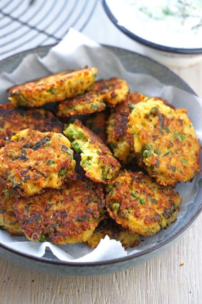 Knusprige Reistaler mit Gemüse - So nach Gefühl