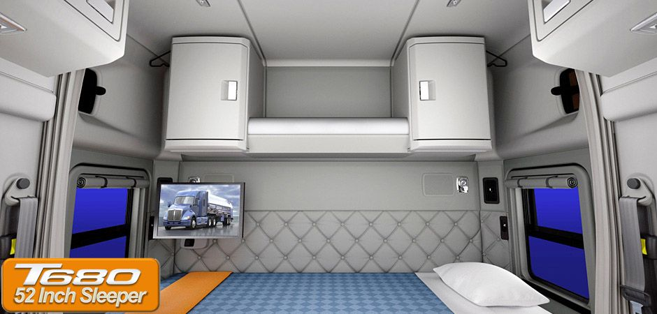 Kenworth Studio Sleepers Interior Home Truck Kenworth W900 Studio Sleeper Interior Lquqtebo