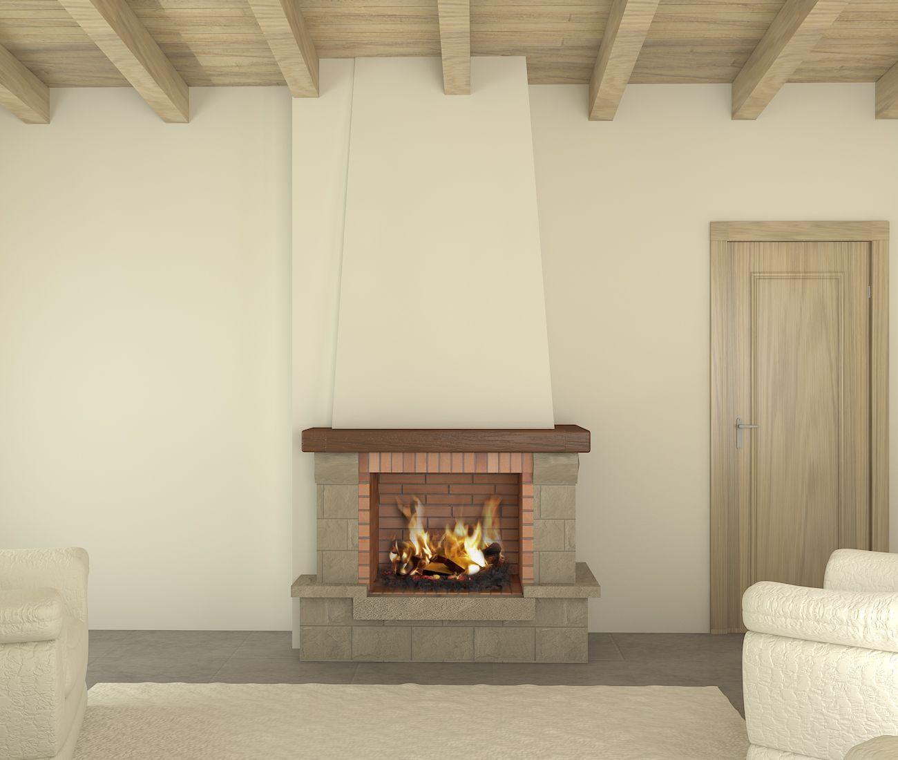 elegant resultado de imagen para chimeneas de lea rusticas with fotos de chimeneas rusticas - Chimeneas Rusticas De Lea