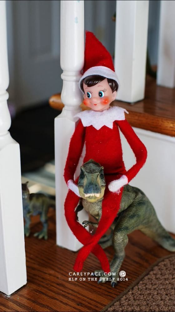 50 Insanely Easy Elf on the Shelf Ideas + The Ultimate Elf on the Shelf Hack That Will Save Your Sanity #easyelfontheshelfideaslastminute