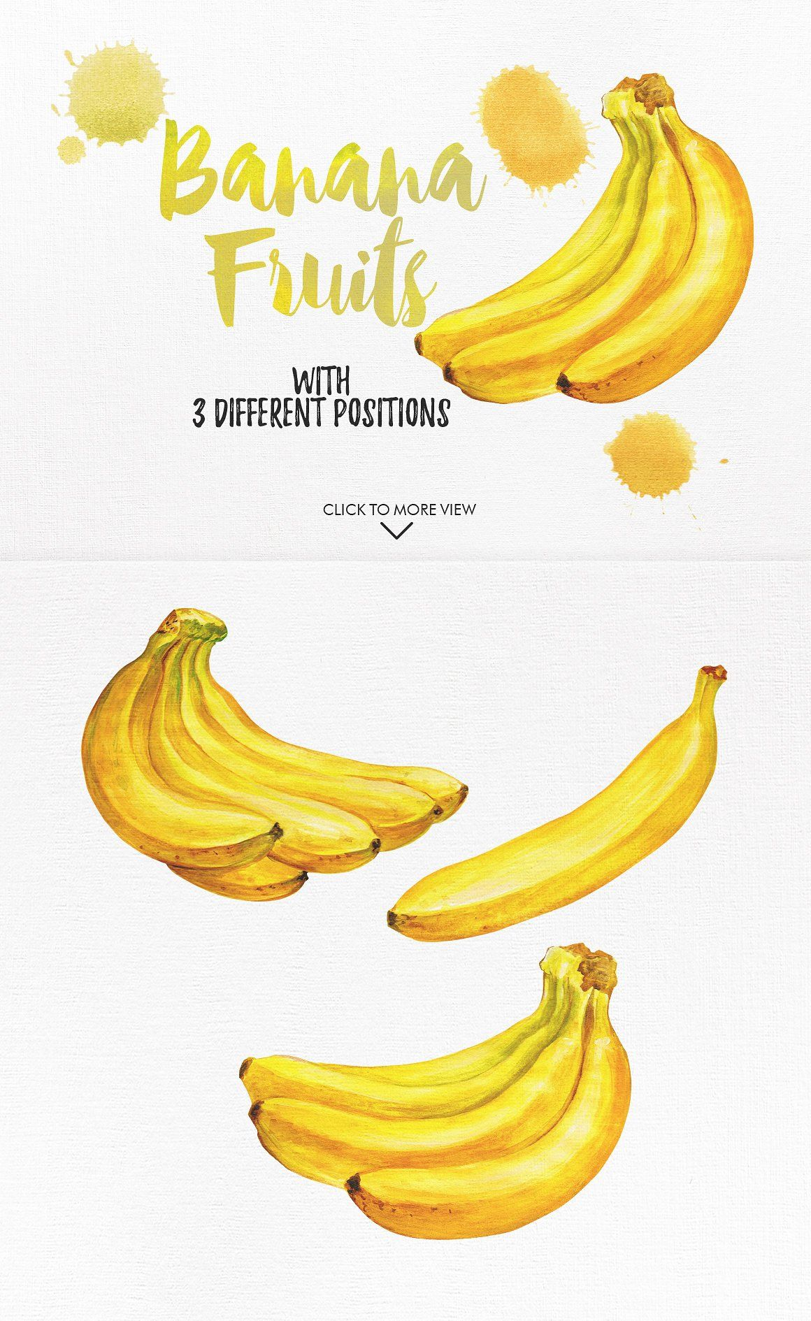 Watercolor Fruits Vol 2 By Igraphobia On Creativemarket
