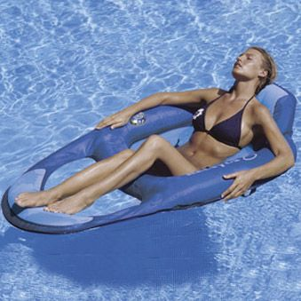Swim Ways Floating Chair Inflatable Pool Float 957656