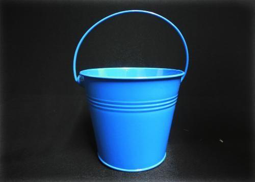 Pail Bucket Royal Blue Pail Bucket Bucket Tin Buckets
