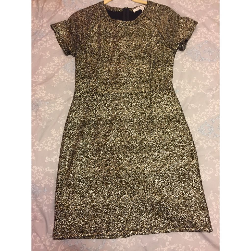 Collective concepts gold u black party dress products