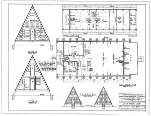 Free E Book Guaranteed Building Plans 200 House Plans 2 Free A Frame Plans Book Of Cabins A Frame House Plans A Frame Cabin Plans A Frame House