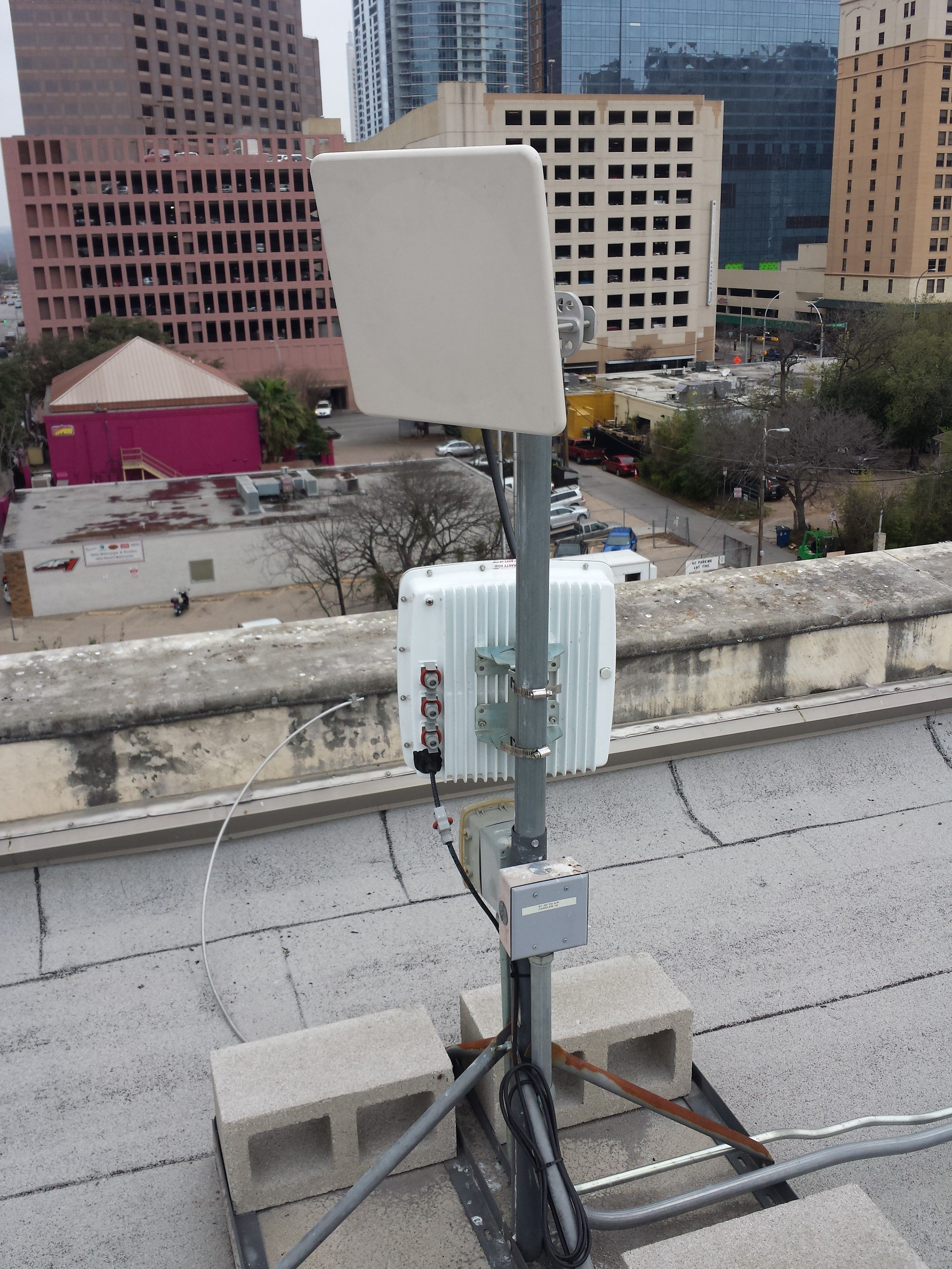 200mbps Backhaul Using Exalt Radios For A Sxsw Event Let The Streaming Begin Wifi Wireless Antennas