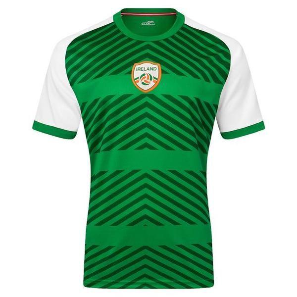 c9b301350  Xara  soccer  jersey  Ireland  green  international  gear  Irish