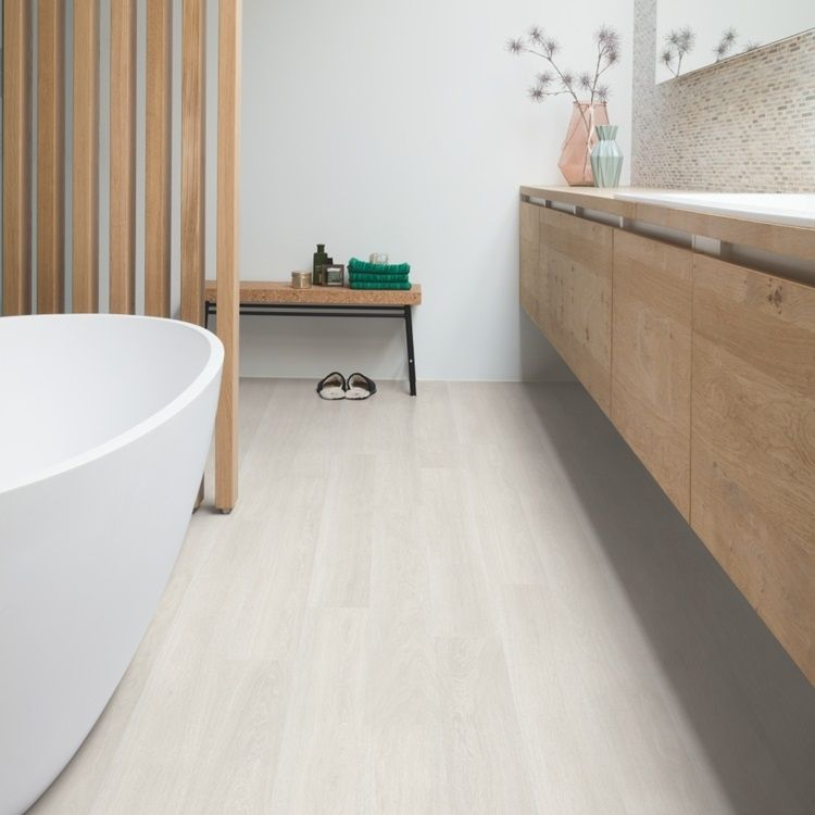 Quick-Step laminaat ook voor in de badkamer want het is ...