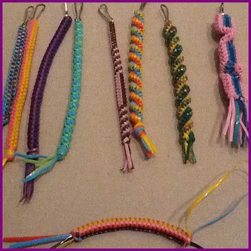 How To Make A Square Knot Boondoggle Plastic Lace Crafts