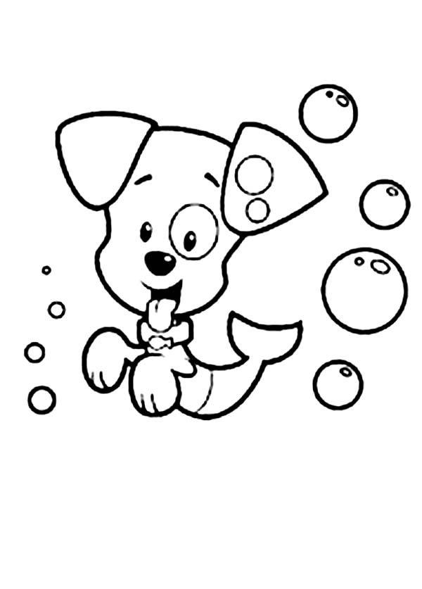 Bubble Puppy From Bubble Guppies Coloring Page Coloring Sun Puppy Coloring Pages Bubble Guppies Coloring Pages Kids Printable Coloring Pages