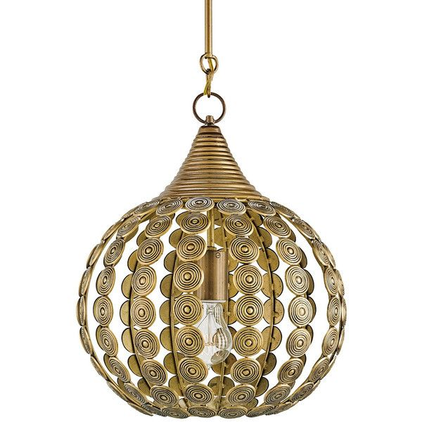 Currey Company Goldrush Pendant 620 Liked On Polyvore Featuring Home Lighting