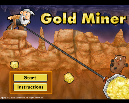 Gold Miner Unblocked Games Play At School Gold miners