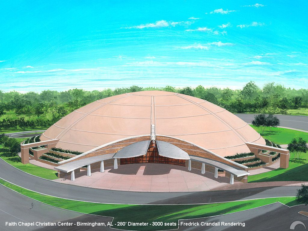 Monolithic Dome Institute Concept Rendering Faith