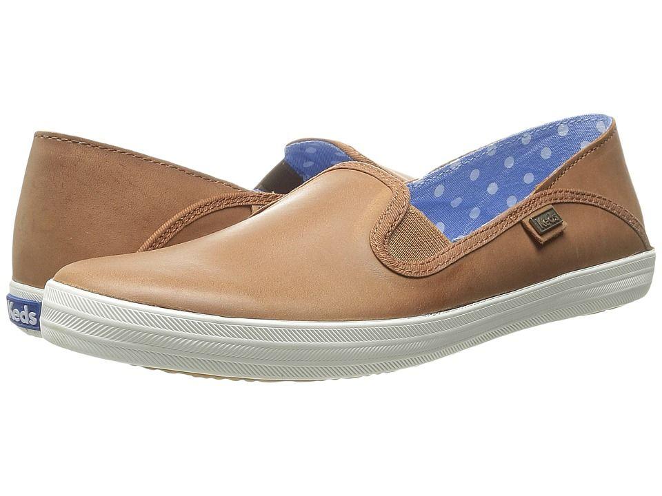 d4559d90aa06f KEDS KEDS - CRASHBACK LEATHER (COGNAC LEATHER) WOMEN S SLIP ON SHOES.  keds   shoes