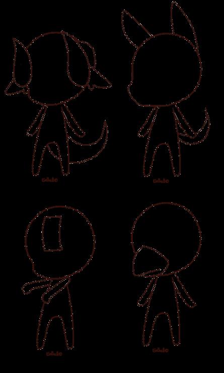 Chibi Base 7 By Eelball Chibi Drawings Drawing Base Anime Drawings Sketches