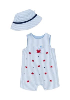 2bdf7bfe005 Little Me 2-Piece Crab Hat And Romper Set - - No Size