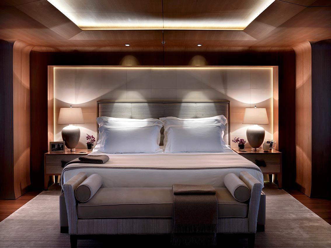 Numptia Luxury Yacht Bedroom Bedroom Interior Luxury Interior Design Luxury Yacht Interior Yacht bedroom interior design