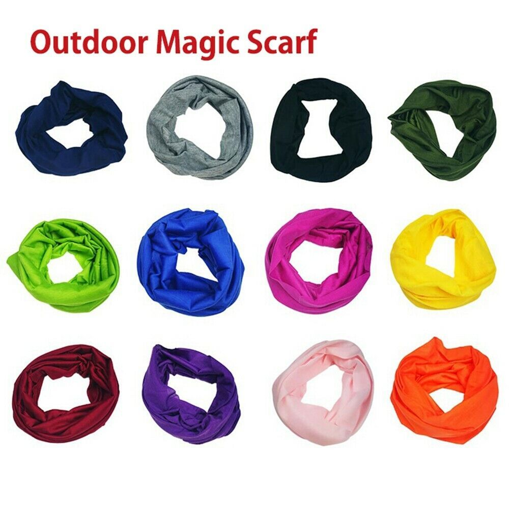 Magic Headwear Rain Umbrella Outdoor Scarf Headbands Bandana Mask Neck Gaiter Head Wrap Mask Sweatband