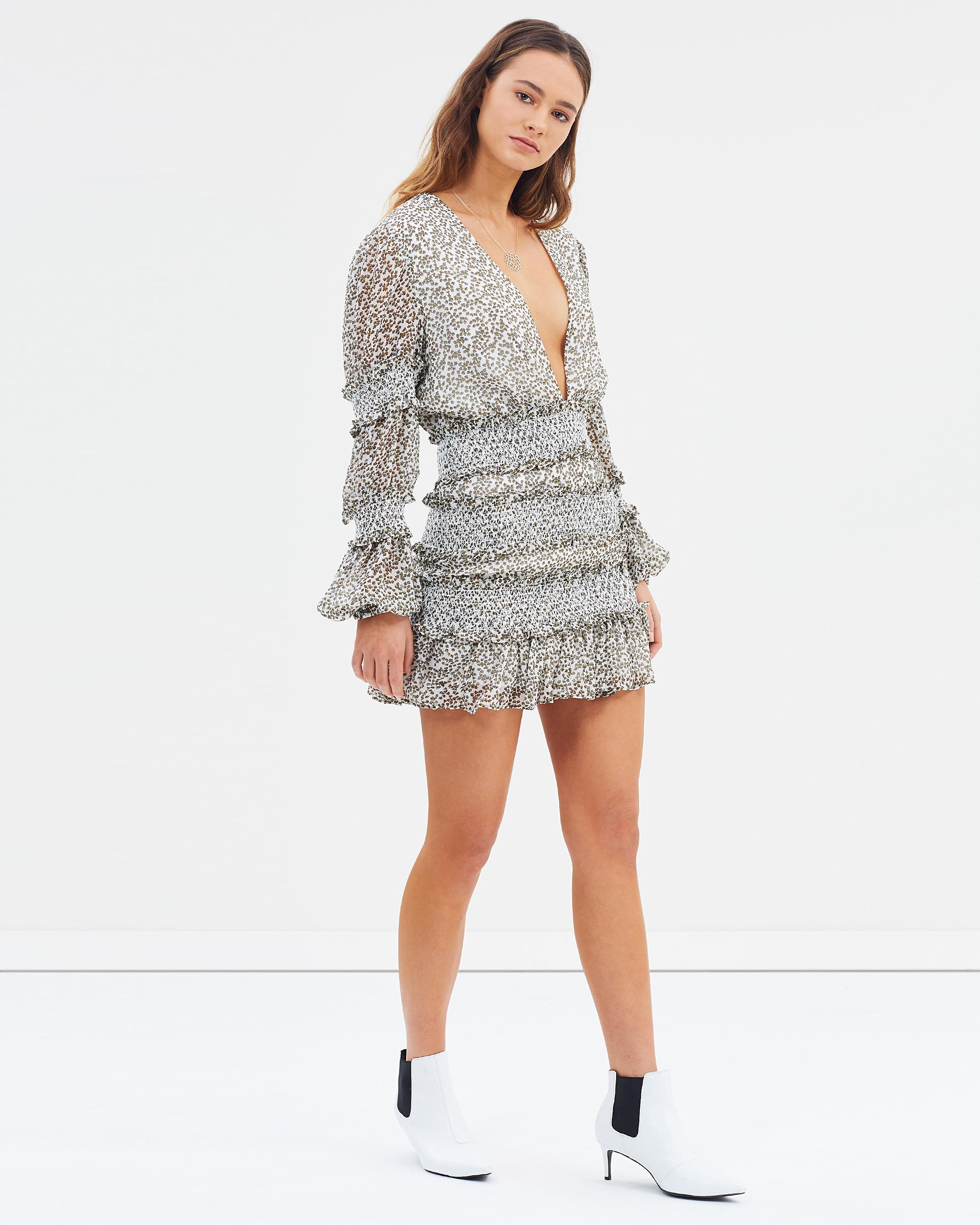 734ea5a805d2 Behati Mini Dress by The East Order Online   THE ICONIC   Australia ...