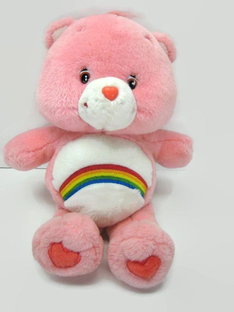 Care bears cheer bear plush stuffed animal toy pink
