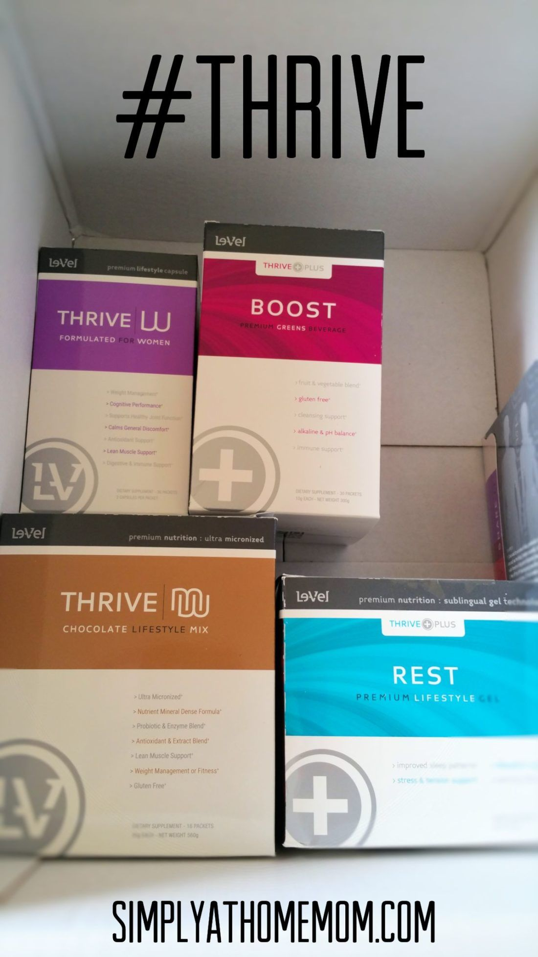 New Year, New You with THRIVE :http://simplyathomemom.com/2017/01/11/new-year-new-you-with-thrive/