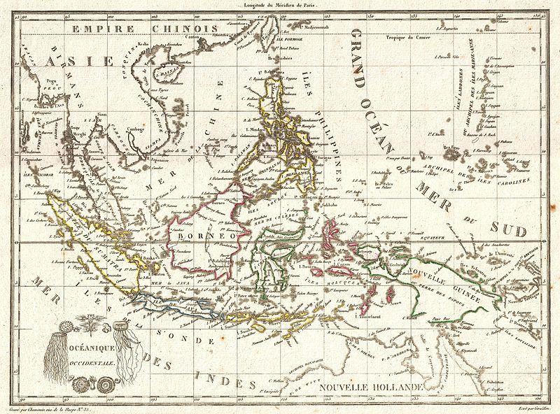 File 1810 Tardieu Map Of The East Indies Singapore Southeast Asia Sumatra Borneo Java Geographicus Eastindies Tardieu 1810 Sejarah Kuno Peta Indonesia
