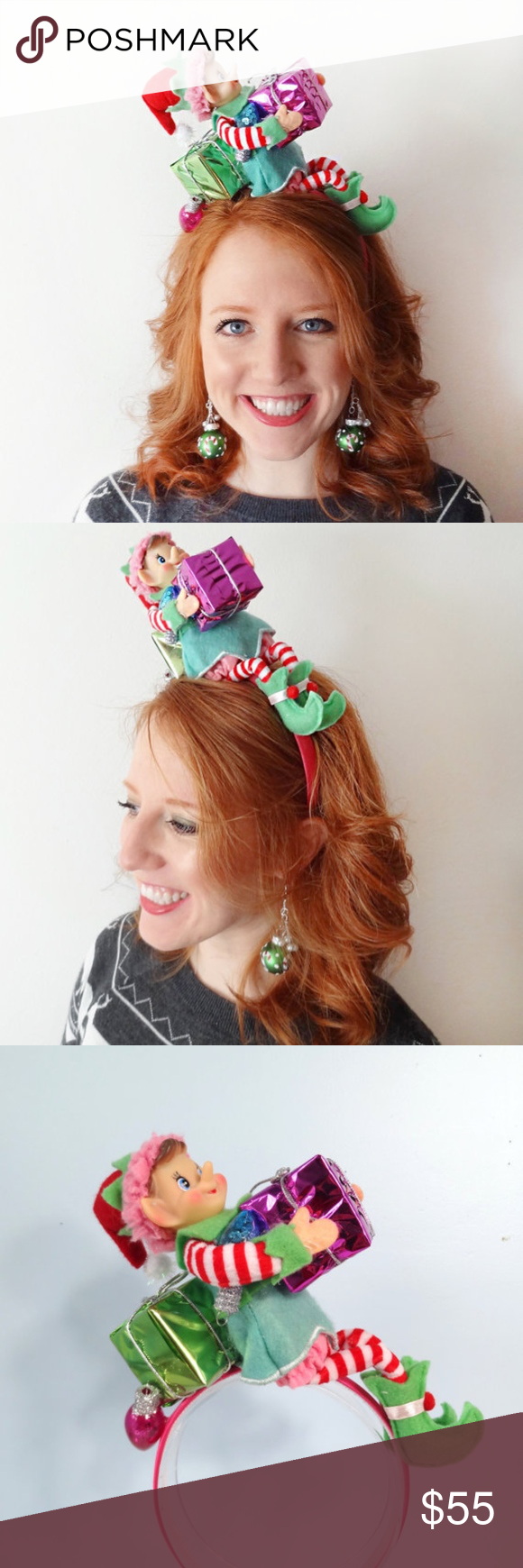 Christmas Headband For Ugly Sweater Party