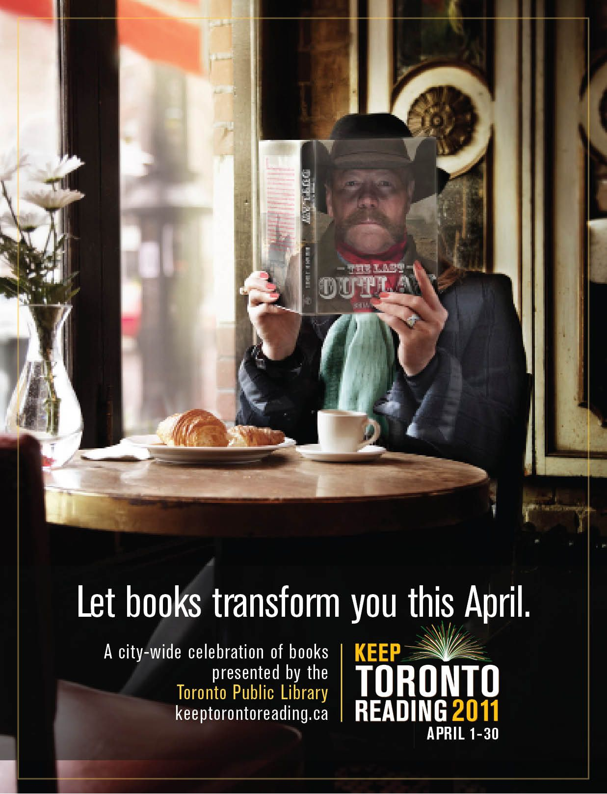 Index of library images illusions best - Transit Poster We Created For The Toronto Public Library S Keep Toronto Reading Campaign Photography By Public Librariesillusionstorontostudents