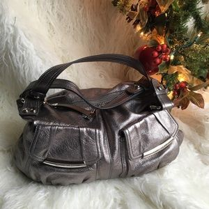 b. makowsky Bags   B Makowsky Presley Pebble Leather Hobo Purse Bag    Poshmark 8595e5e6eb