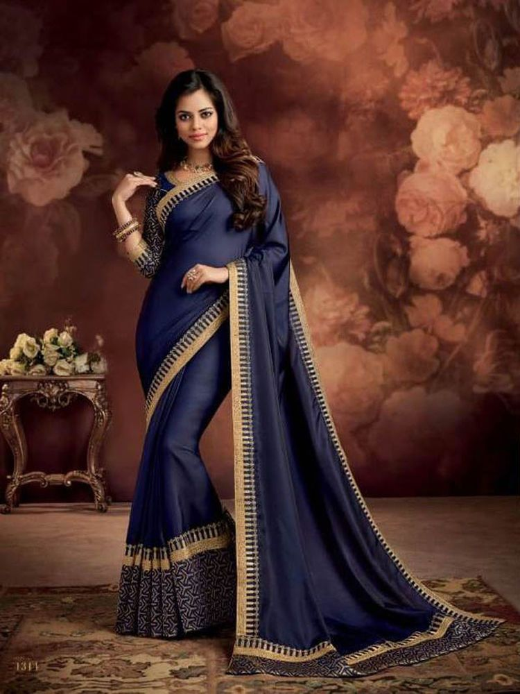 0f06ecea041171 Designer sarees for women latest design 2018 party wear saree blouses free  Ship #Handmade #Saree