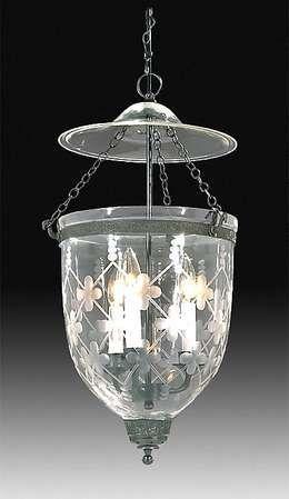 19th Century Hall Lantern With Lattice Design Antique Lamp