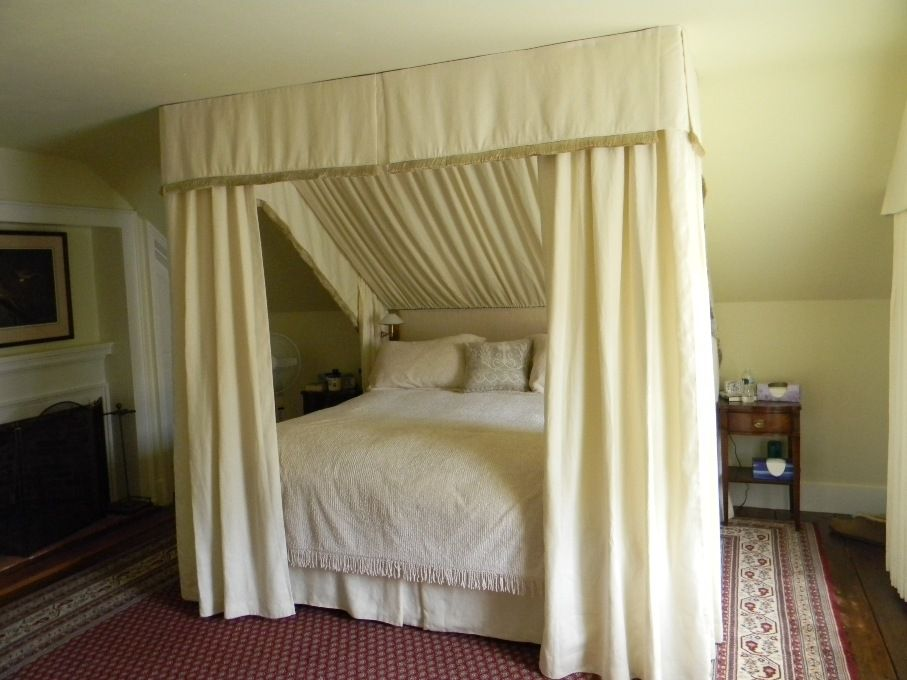 Ceiling Canopy Bedroom: Sloped Ceiling Canopy - Google Search