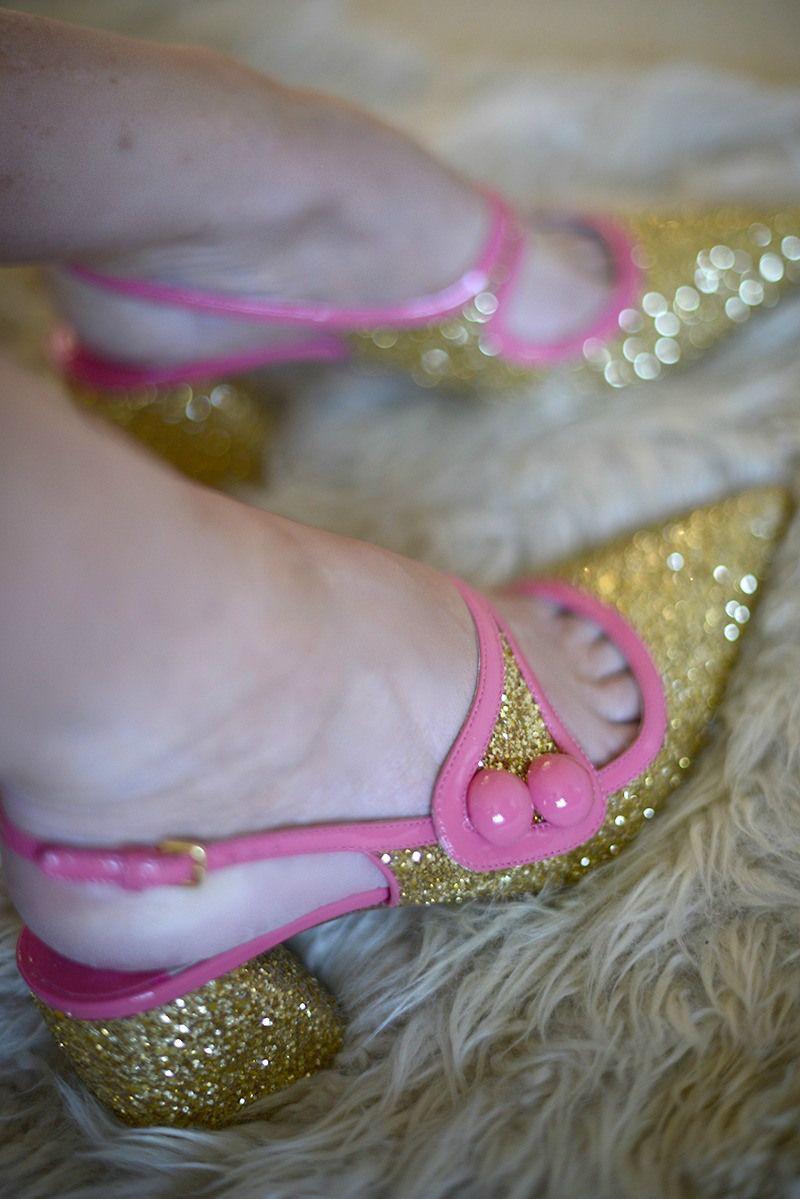 Glitter shoes – party season fave - more top picks on the blog http://loblerdelaney.co.uk/glitter-shoes-party-season-fave/