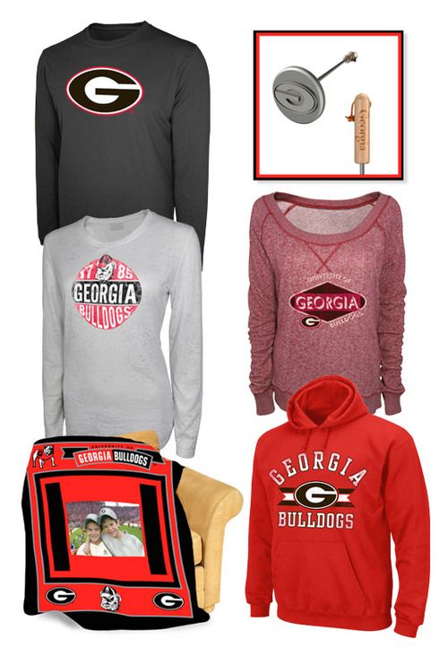 huge sale c55b1 64585 Go Bulldogs! Get all your University of Georgia gear at ...