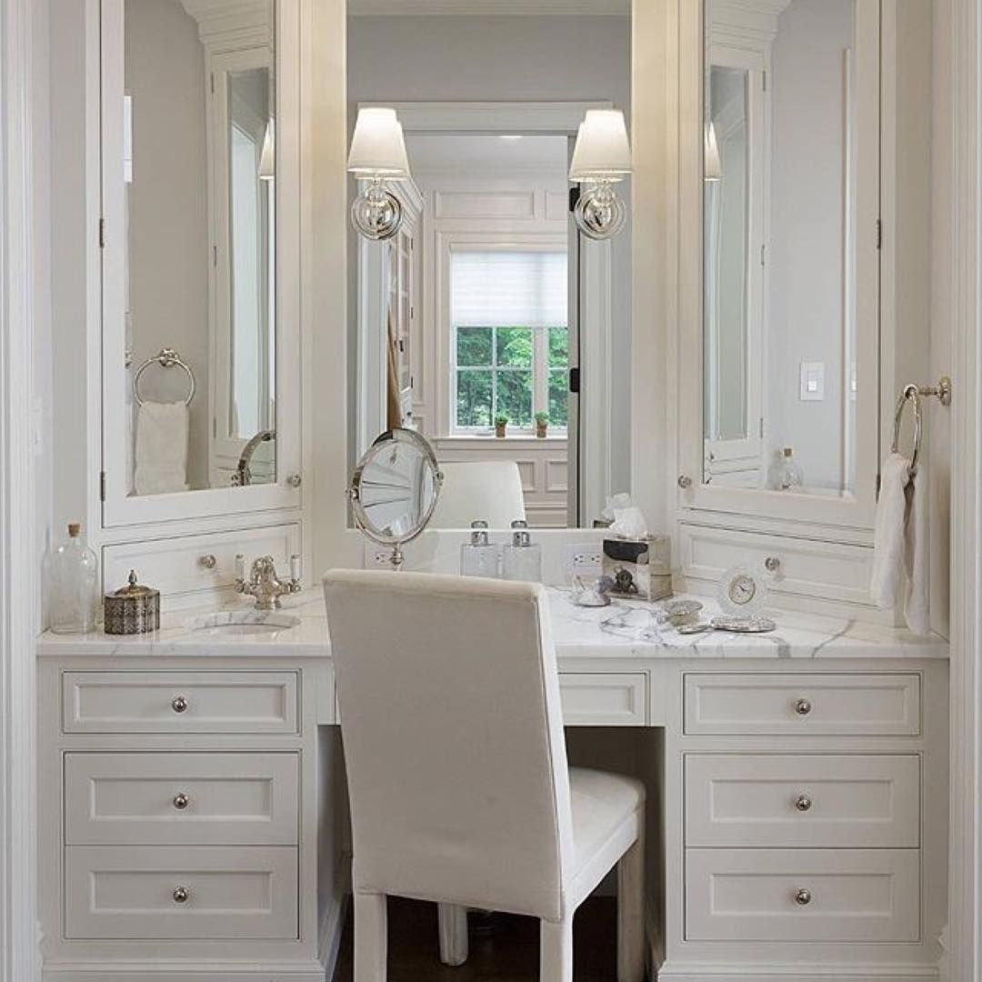 Pin by Yolanda Vicente on Make up Vanity Bathroom with