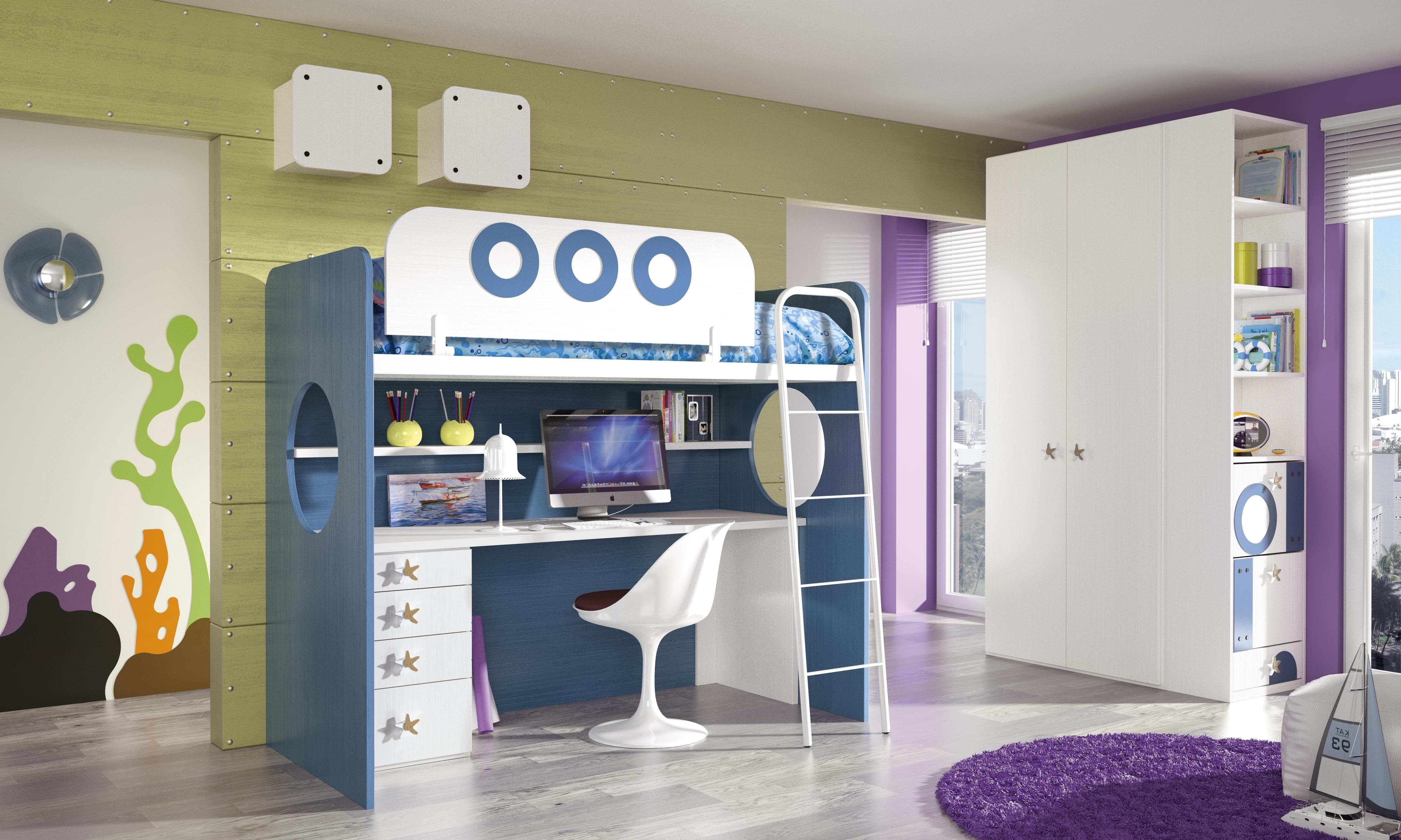 Habitaciones infantiles tem ticas dibujos animados bob8 fondo del mar seabed pinterest - Habitaciones infantiles tematicas ...