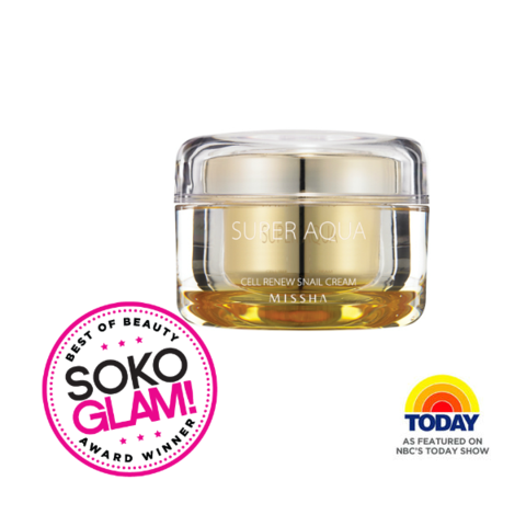 Super Aqua Cell Renew Snail Cream Snail Cream Missha Skin Care Cream