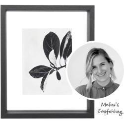 Bilderrahmen zum Aufhängen, schwarz, 25×20 cm Madam StoltzMadam Stoltz