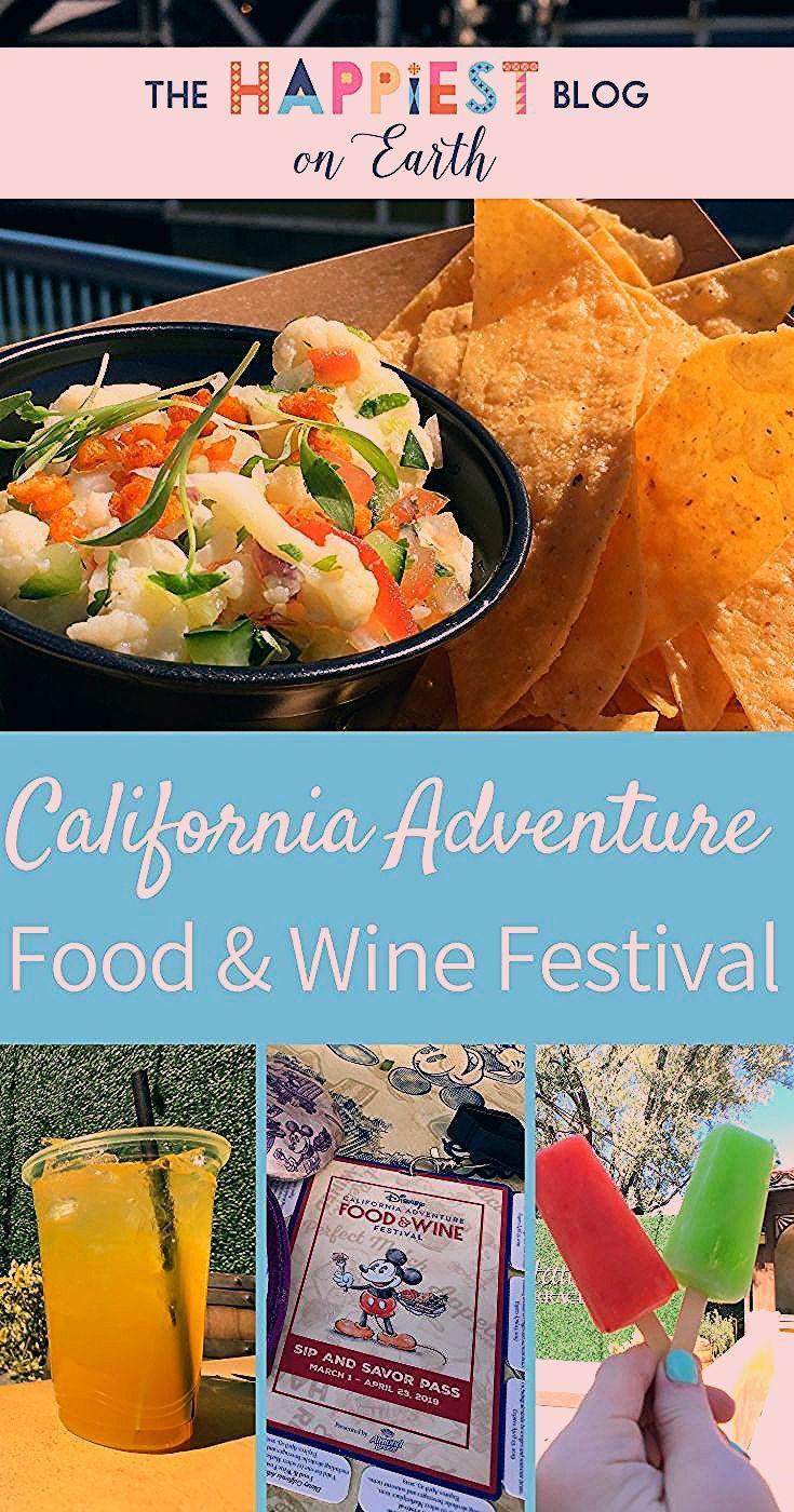 Photo of California Adventure Food & Wine Festival 2020 | The Happiest Blog on Earth