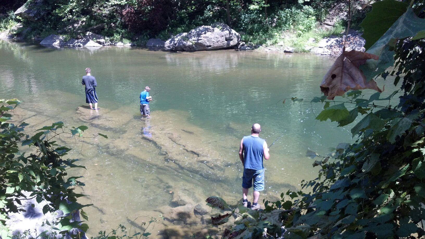 West virginia fishing