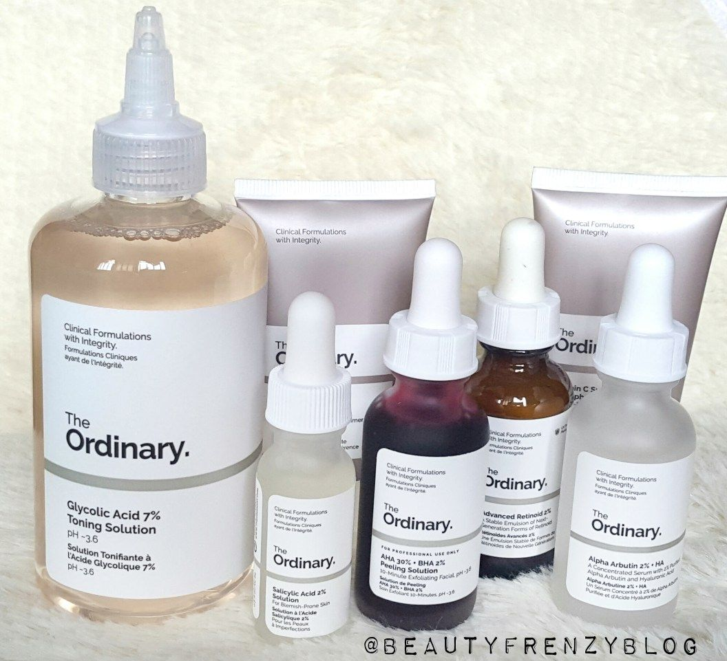 Best Products From The Ordinary The ordinary skincare
