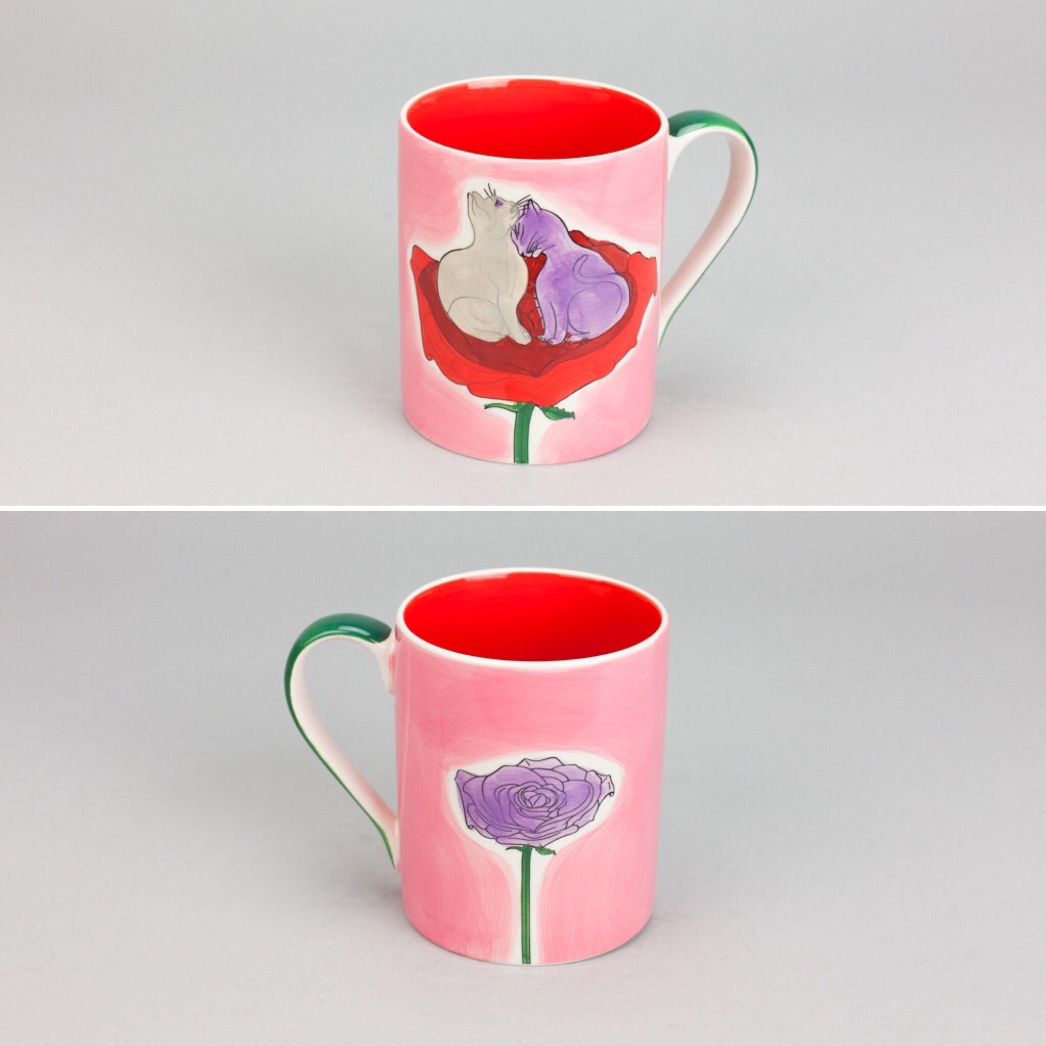 Caneca Rose Eternal Love | A Loja do Gato Preto | #alojadogatopreto | #shoponline