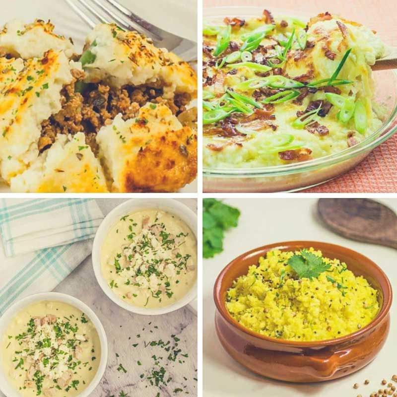 11 Best Cauliflower Recipes - Low-Carb & Keto Friendly 100% Delicious! #kitchencollection