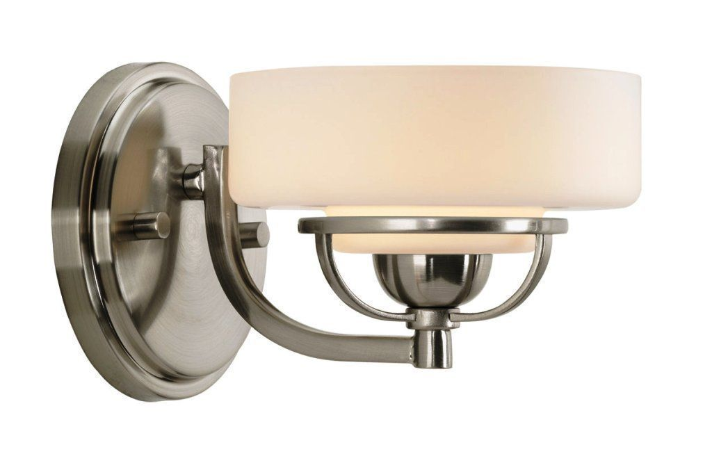 Photo of Modern bathroom lights brushed nickel You are in the right place for …