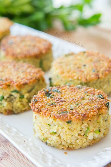 Easy Crispy Quinoa Cakes  Lets Get Cooking