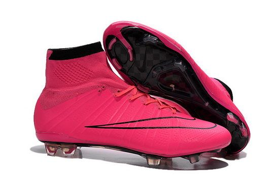 Nike Mercurial Superfly Acc Fg Soccer Boots Cleats Pink Black Reduced