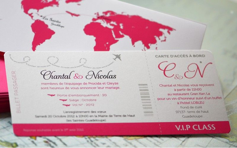 1000 images about faire part on pinterest luxury wedding invitations deco and lille - Faire Part Mariage Billet D Avion